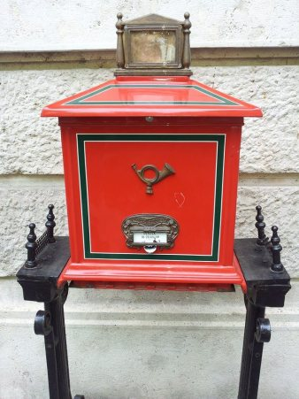 Budapest mailbox