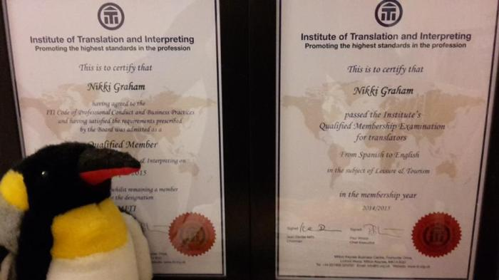 ITI certificates