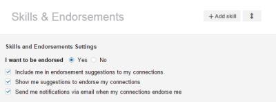 LinkedIn Skills & Endorsements 2