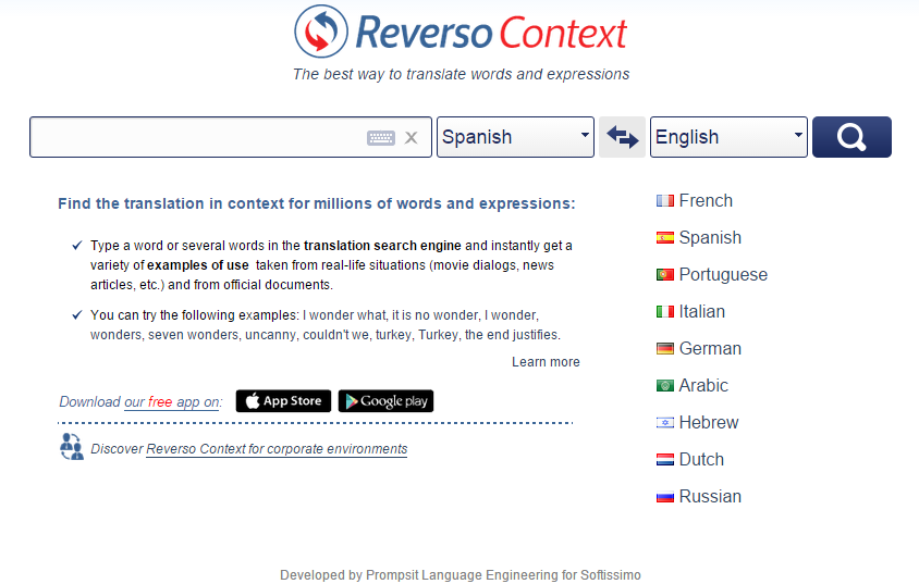 Time to Reverso your use of Linguee? – Tranix Translation & Proof